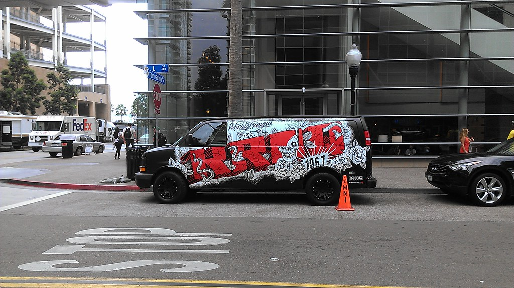 Rebel 8 KROQ van