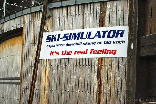 ski simulator 2