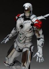 HT 1-6 Iron Man Mark IV (Hot Toys) Custom Paint Job by Zed22 (1)