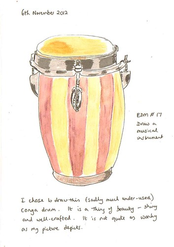 EDM # 17 Draw a musical instrument
