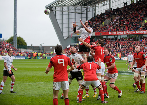 Ulster's lineout copy