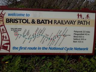Clarion W/E ride Bath/Bristol 21/22 April 2012