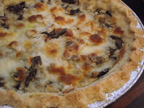 Mushroom Cheese Tart