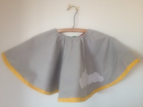 Reversible Circle Skirt ~ side 1