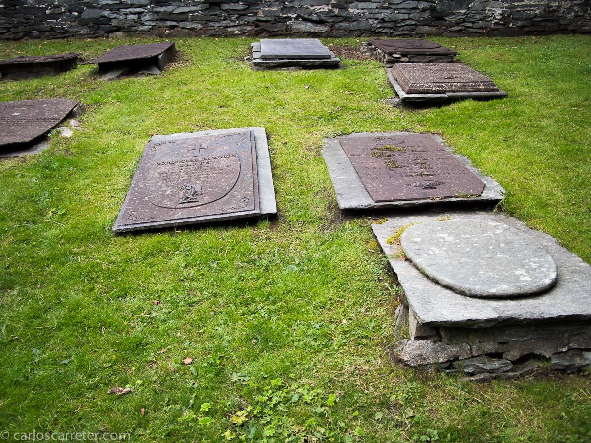 Cementerio en la Domkirke