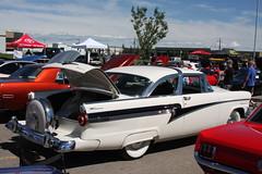 1956 Meteor Rideau rear