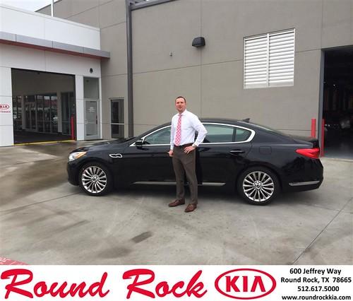 Congratulations to Benjamin Klein on your #Kia #K900 purchase from Brandon Carlson at Round Rock Kia! #NewCar by RoundRockKia