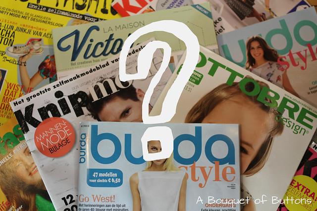 sewing magazine, naaimagazine, tijdschrift, knipmode, burda, ottobre, La Maison Victor