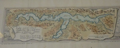 lake of Como drawing from 1570