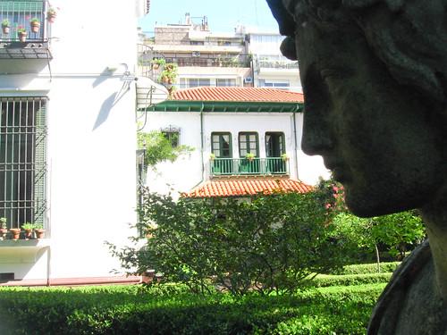 Museo Larreta, garden