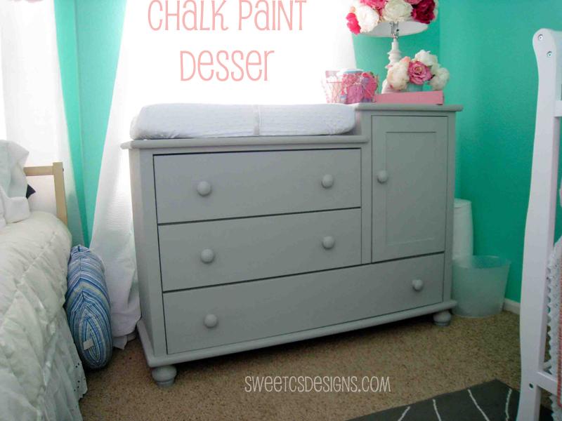Chalk Paint Dresser  Sweet Cs Designs