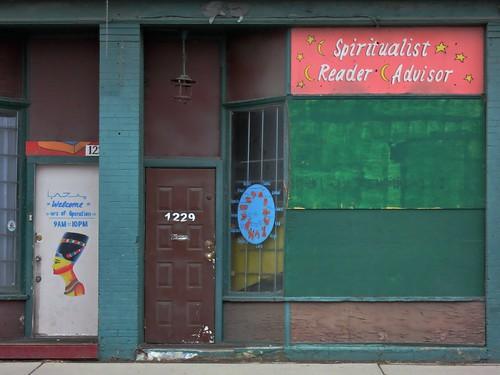 Spiritualist, reader, advisor