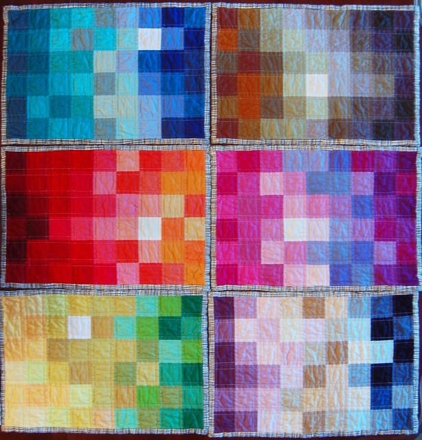 Pixelated Spectrum Placemats