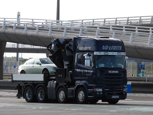 F1 Scania Crane Truck