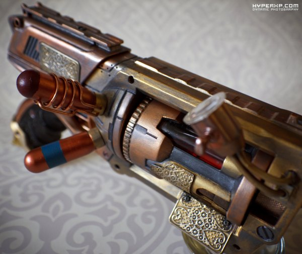 Steampunk Gun 5 Nerf Maverick Tinkspg Feel