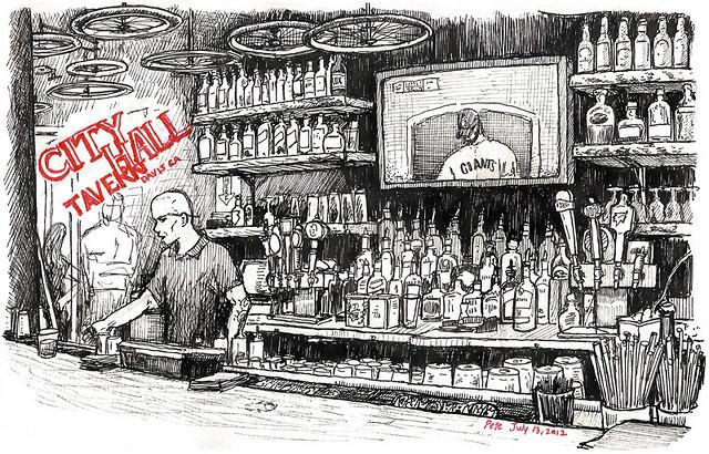 city hall tavern, davis