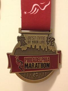 Nov 11 2011 Philadelphia Half Marathon