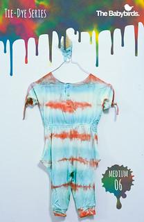 The Babybirds Tie-Dye Series