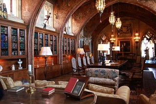 William Hearst's personal library