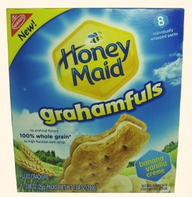 Nabisco Honey Maid Banana Vanilla Crème Grahamfuls