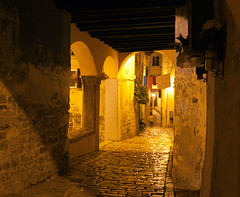 night street, Rovinj