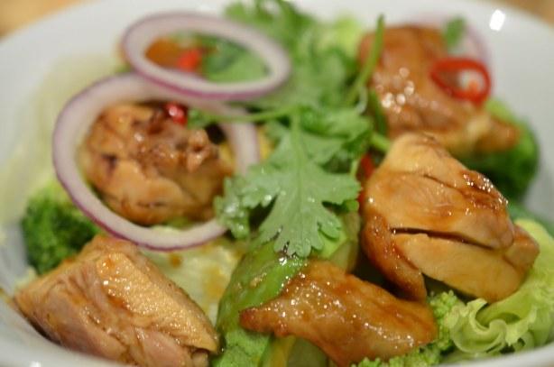 Masuya Teriyaki chicken salad