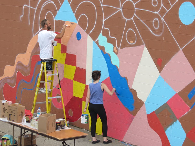 DSA: The Mural Project - Center Street