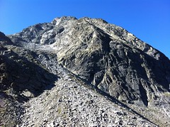 Aufstieg Lenkstein 3.237 m