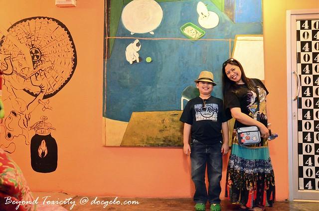 tina and gabby at mystic place bangkok