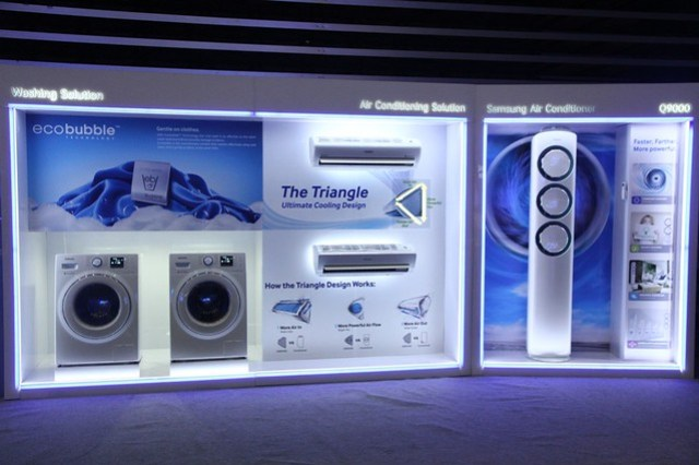 The latest line of Samsung's Digital Appliances with the new Digital Inverter Technology