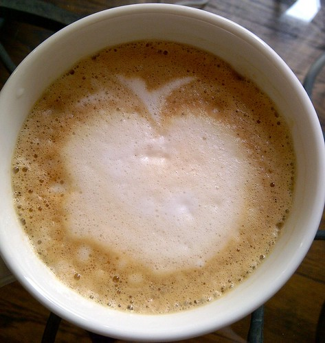 apple in my cappuccino
