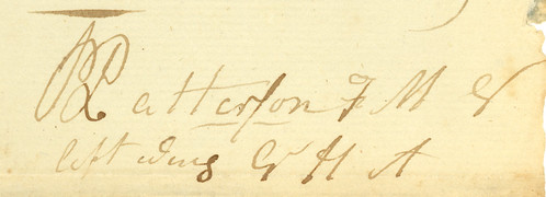 ignature of Col. Robert Patterson, 1813, Dayton, Ohio by Dayton Metro Library Local History, on Flickr
