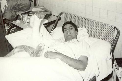Romney in Bazas ward bed 1968