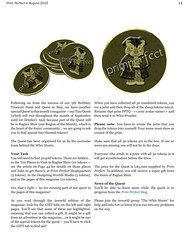 Prim Perfect: Issue 42 - Summer 2012: Tiny Quest!