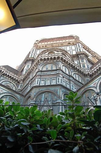View of the Duomo from Le Botteghe di Donatello