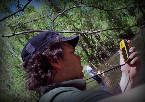 Gunpowder RIVERKEEPER Volunteer Stream Waders use GPS Coordinates