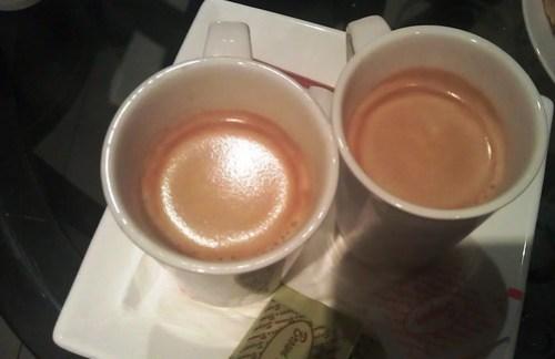 Bar Dolci Afogato coffee with Gelato