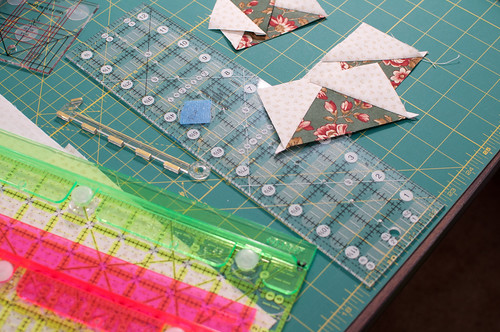 Quilt-ruler Triangle Additions