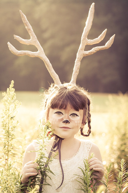 But the deer was too cute