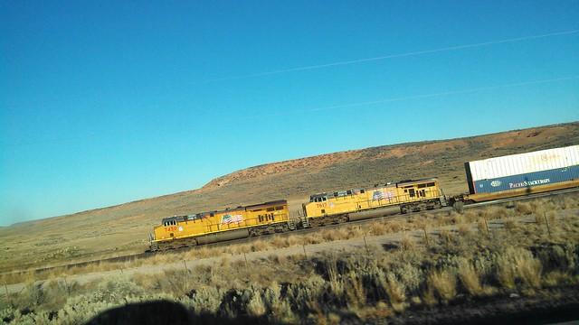 minivan vs freight train