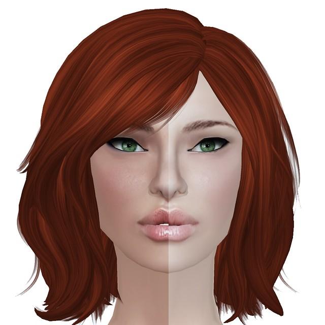 Composite - Alice (Darker vs Lighter) (Teeth vs No Teeth) (No Lashes)