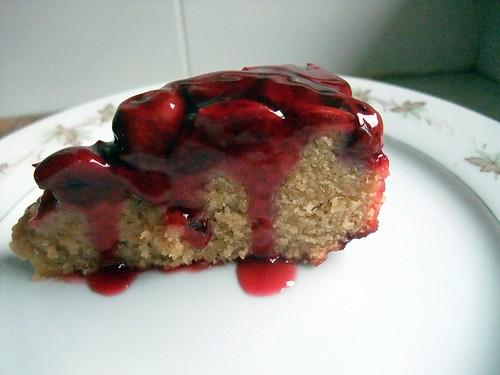 Cherries Almond Cake (3)