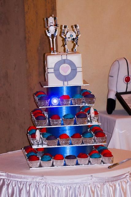 Portal 2 Cake