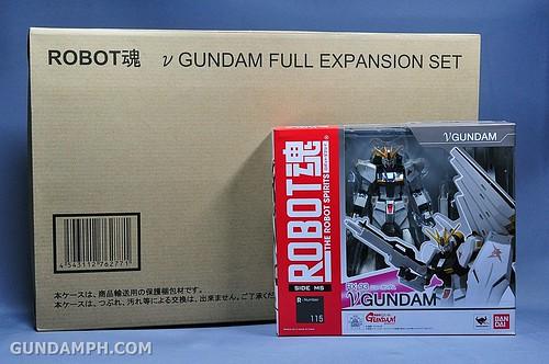 Robot Damashii Nu Gundam & Full Extension Set Review (1)