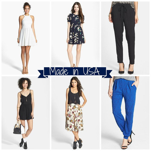 Nordstroms made in USA collage 1