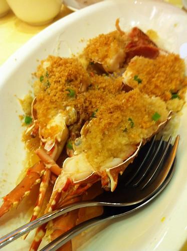 steam lobster