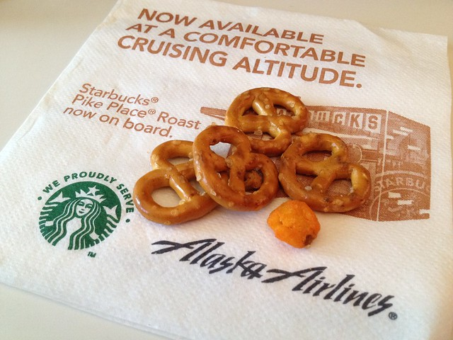 Crunchy snack mix - Alaska Airlines