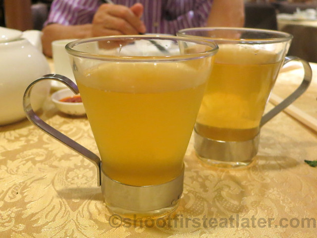 pear & longan drink HK$20