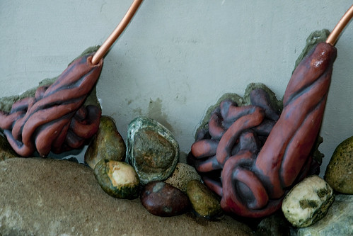 Bull Kelp Sculpture by Fran Benton - holdfast detail