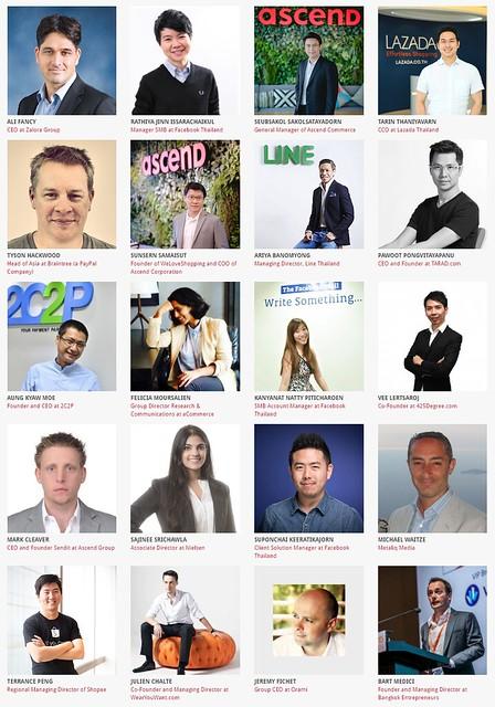 รายชื่อวิทยากรในงาน Thailand eCommerce Summit 2016